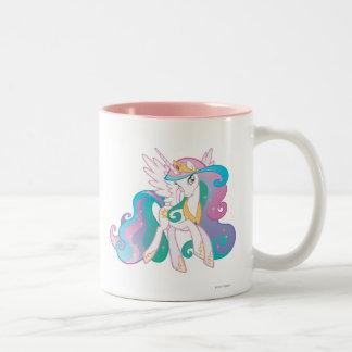 Princess Celestia Two-Tone Coffee Mug