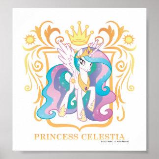 Princess Celestia with Crown Poster