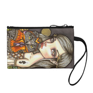 Princess Celine and Her Majesty the Owl Coin Wallet