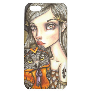 Princess Celine and Her Majesty the Owl Case For iPhone 5C