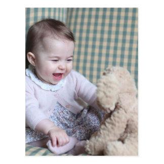 Princess Charllote Elizabeth Diana Postcard