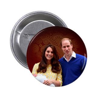 Princess Charlotte Elizabeth Diana 2 Inch Round Button