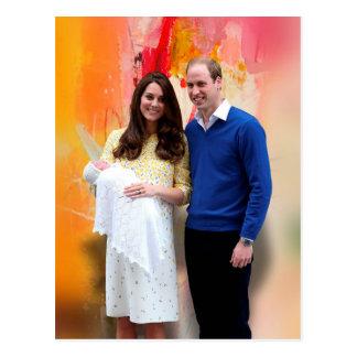 Princess Charlotte Elizabeth Diana Postcard