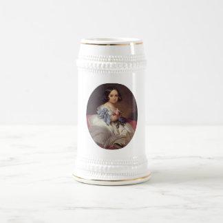 Princess Charlotte of Belgium Beer Stein