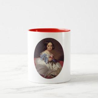 Princess Charlotte of Belgium Two-Tone Coffee Mug