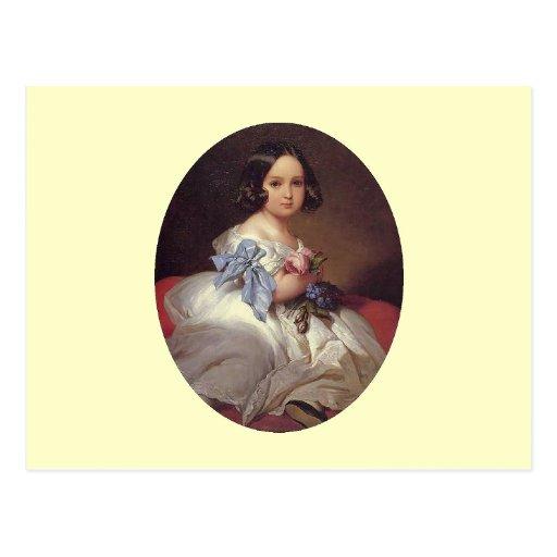 Princess Charlotte of Belgium Postcard
