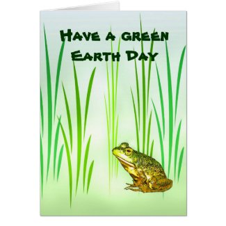 Princess Charming Earth Day Card