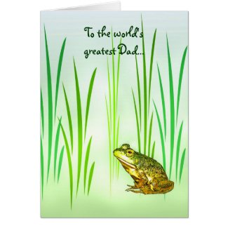 Princess Charming Fathers Day Card
