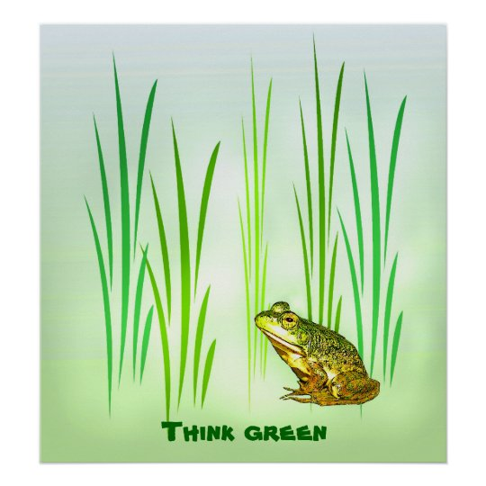 Princess Charming Think green Poster