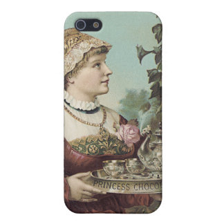 Princess Chocolate Trade Card Cover For iPhone SE/5/5s
