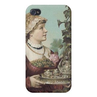 Princess Chocolate Trade Card iPhone 4 Cover