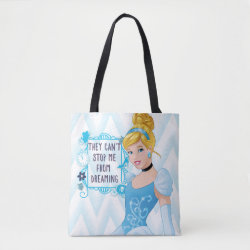 All-Over-Print Tote Bag, Medium with They Can't Stop Me From Dreaming design