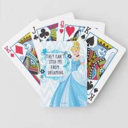 Playing Cards with They Can't Stop Me From Dreaming design