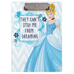 Clipboard with They Can't Stop Me From Dreaming design