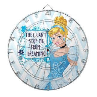Princess Cinderella Dart Board