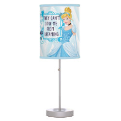 Table Lamp with They Can't Stop Me From Dreaming design