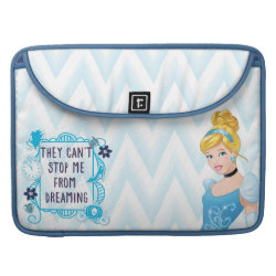 Macbook Pro 15' Flap Sleeve with They Can't Stop Me From Dreaming design