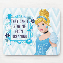 Mousepad with They Can't Stop Me From Dreaming design