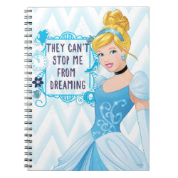 Photo Notebook (6.5' x 8.75', 80 Pages B&W) with They Can't Stop Me From Dreaming design