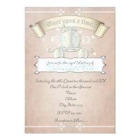 Princess Cinderella Royal Carriage Wedding Invite