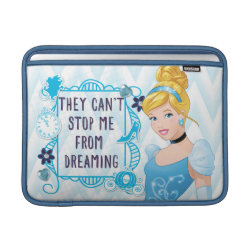 Macbook Air Sleeve with They Can't Stop Me From Dreaming design