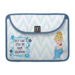 Macbook Pro 13' Flap Sleeve with They Can't Stop Me From Dreaming design