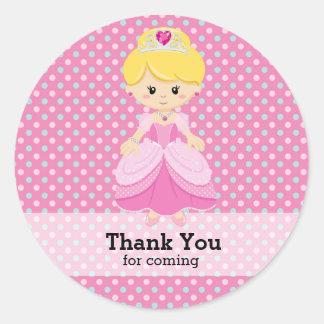 Princess Classic Round Sticker