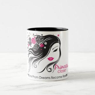 Princess Closet Cup Two-Tone Coffee Mug