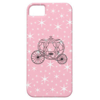 Princess Coach Design in Black and Pink. iPhone SE/5/5s Case