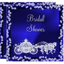 Princess Coach & Horses Bridal Shower Invitation