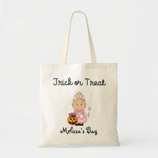 Princess costume Trick or Treat Bag