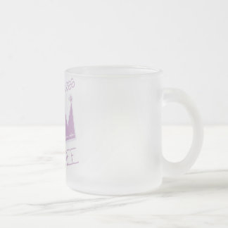 Princess Crown 3rd Birthday Tshirts and Gifts Frosted Glass Coffee Mug