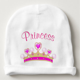 Princess Crown Baby Infant Beanie Hat