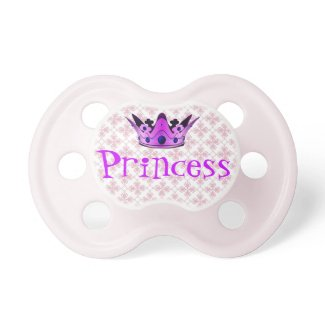 Princess Crown Baby Pacifier