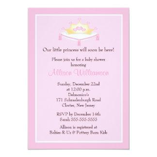 princess theme baby shower invitations announcements zazzle