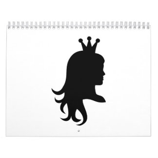 Princess crown calendar