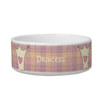 Princess Crown Cat Bowl