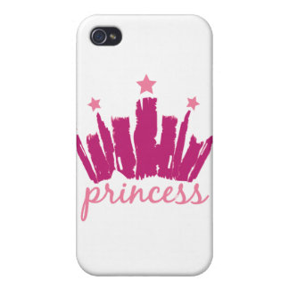 Princess Crown iPhone 4/4S Cases