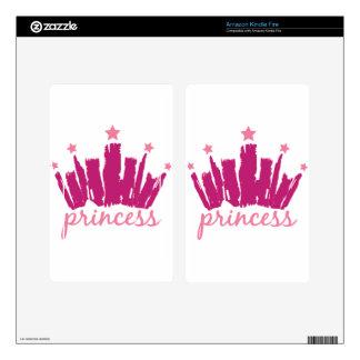 Princess Crown Kindle Fire Skins