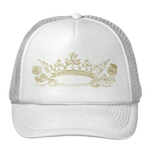 Princess Crown Mesh Hat