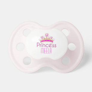 Princess Crown (personalised) Booginhead Pacifier