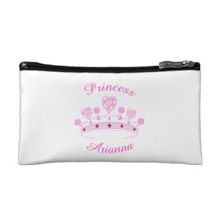 Princess Crown Personalized Cosmetic Bags