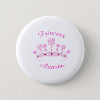 Princess Crown Personalized Pinback Button