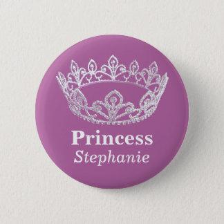 Princess Crown Pin Button