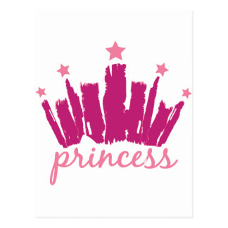 Princess Crown Postcard