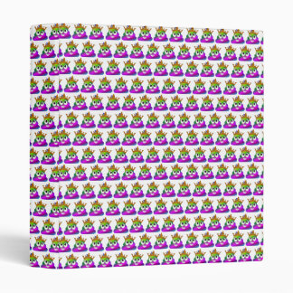 Princess Crown Rainbow Emoji Poop Binder