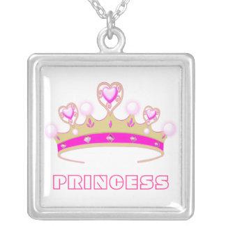Princess Crown Tiara Necklace