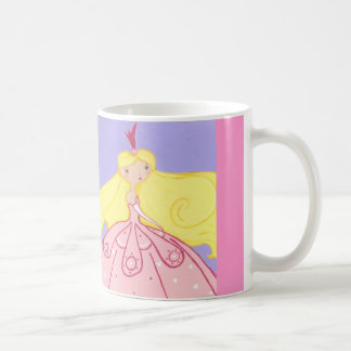 Princess Cup Classic White Coffee Mug