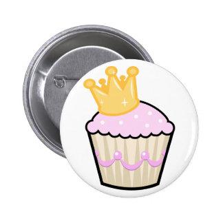 Princess Cupcake Pinback Button