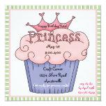 Princess Cupcake Invitation